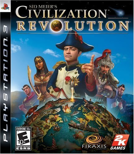 Ps3 Civilization Revolution Take 2 Interactive E10+