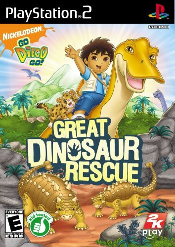 Ps2 Go Diego Go Great Dinosaur Re Take 2