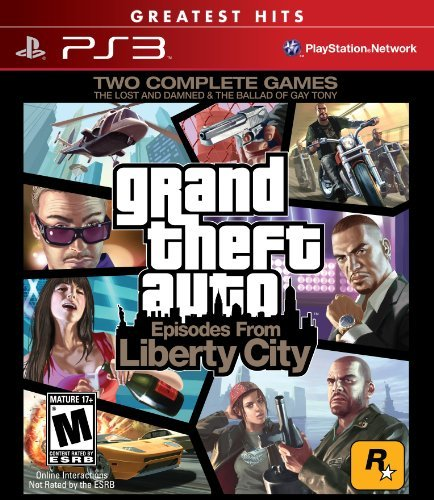 Ps3 Grand Theft Auto Episodes From Take 2 Interactive M