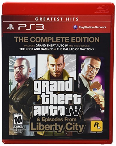 Ps3 Grand Theft Auto 4 Complete Take 2 Interactive M