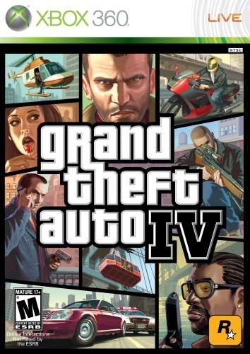 Xbox 360 Grand Theft Auto 4 Take 2 Interactive M