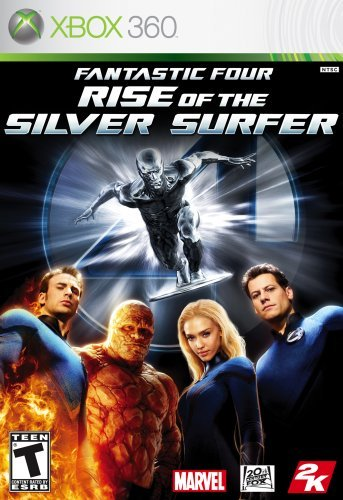 Xbox 360 Fantastic 4 Rise Of Silver