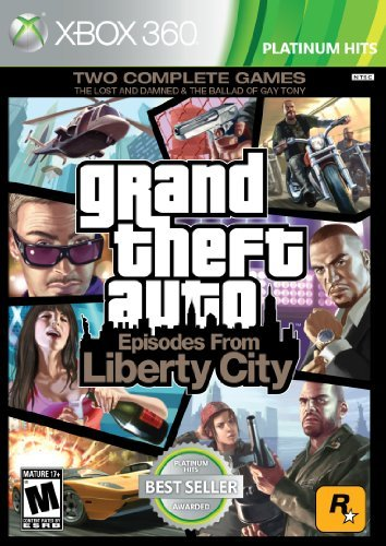 Xbox 360 Grand Theft Auto Episodes From Take 2 Interactive M