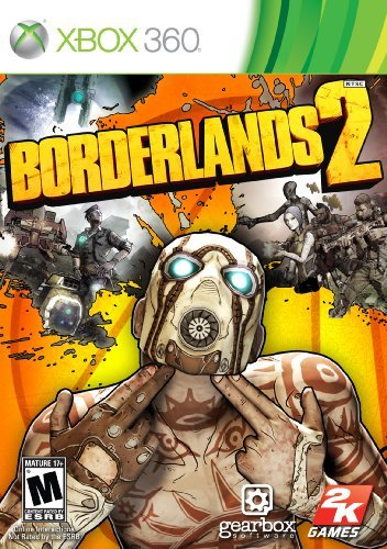 Xbox 360 Borderlands 2 Take 2 Interactive M