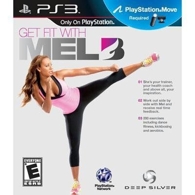 Ps3 Move Get Fit With Mel B Sony Computer Entertainme E