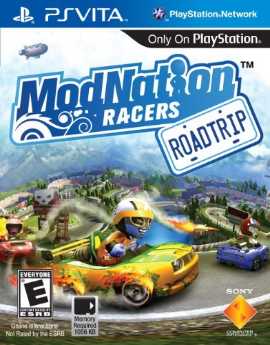 Psv Modnation Racers Road Trip Sony Computer Entertainme E