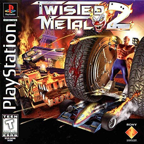 Psx Twisted Metal 2 3d T
