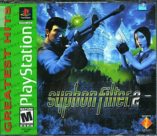 Psx Syphon Filter 2 Greatest Hits T