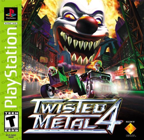Psx Twisted Metal 4 T