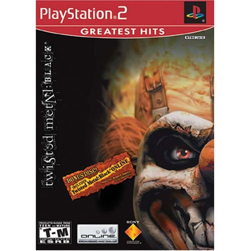 Ps2 Twisted Metal Black