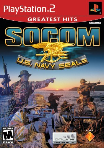 Ps2 Socom Navy Seals (w O Headset) No Headset Included