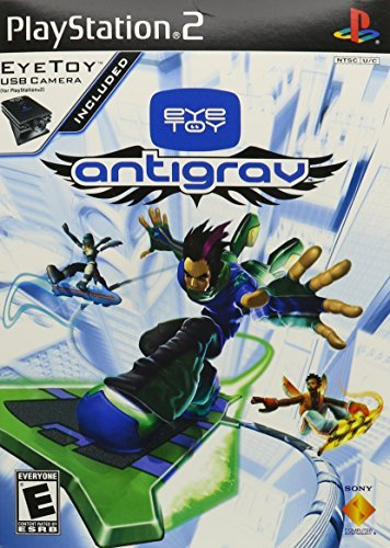 Ps2 Eyetoy Antigrav Requires Eyetoy Camera