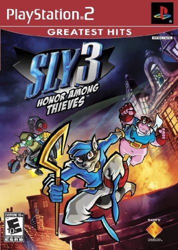 Ps2 Sly 3 Honor Among Thieves