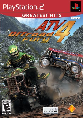 Ps2 Atv Offroad Fury 4 Sony