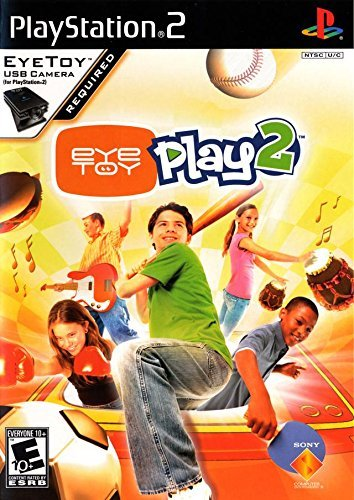 Ps2 Eyetoy Play 2 W Camera