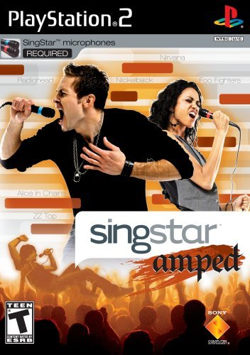 Ps2 Singstar Amped Sony T
