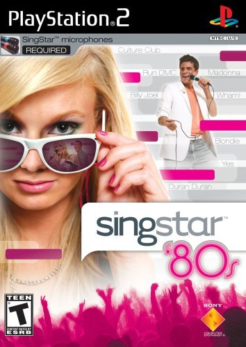 Ps2 Singstar 80's Game Only