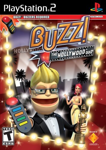 Ps2 Buzz! The Hollywood Quiz