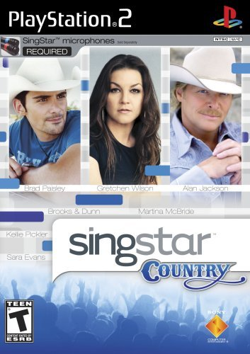 Ps2 Singstar Country