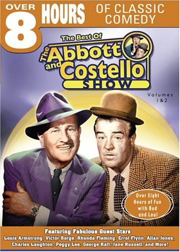 Vol. 1 2 Best Of Abbott & Cost Abbott & Costello Comedy Hour Bw Nr 2 DVD