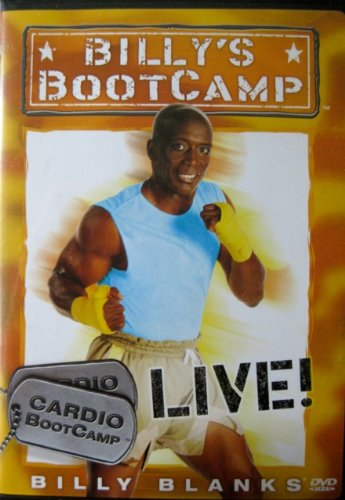 Billy Blanks Billy's Bootcamp Cardio Bootcamp Live! Billy Blank