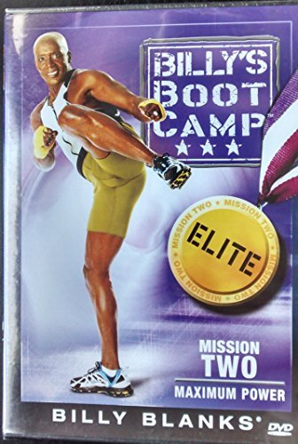 Billy Blanks Billy's Bootcamp Elite Mission Two Maximum Power D