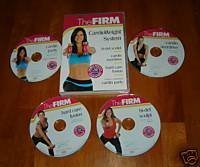 Firm Cardio Weight System 4 DVD Set
