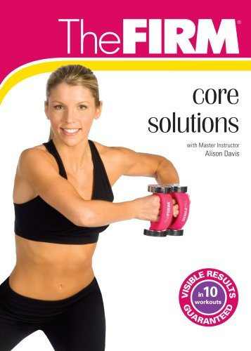 Alison Davis Firm Core Solutions DVD Mod This Item Is Made On Demand Could Take 2 3 Weeks For Delivery