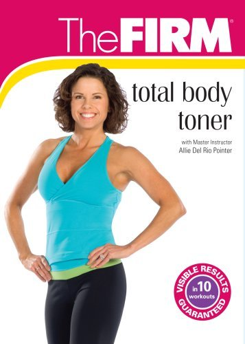 Allie Del Rio Pointer Firm Total Body Toner DVD Mod This Item Is Made On Demand Could Take 2 3 Weeks For Delivery