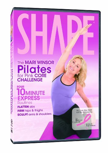 Mari Winsor Pilates For Pink Core Challeng Nr