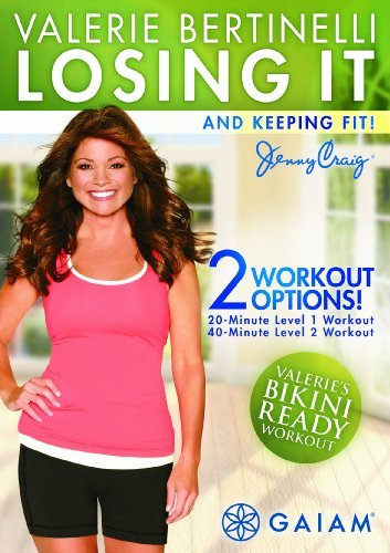 Valerie Bertinelli Losing It & Keeping Fit DVD Mod This Item Is Made On Demand Could Take 2 3 Weeks For Delivery