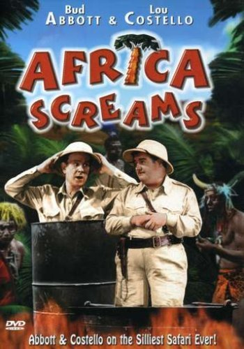 Africa Screams Abbott Costello Beatty Buck Ba Bw Nr