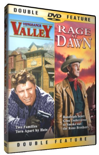 Vengeance Valley Rage At Dawn Double Feature Clr Nr