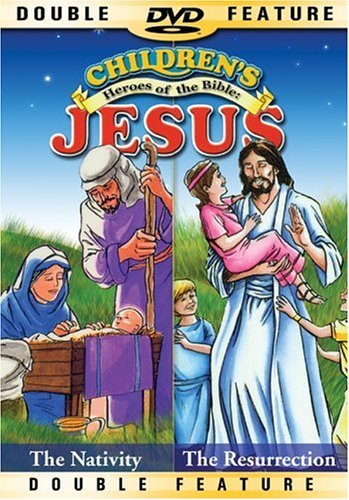 Children's Story Of Jesus Nativity Resurrection Clr Nr 2 On 1