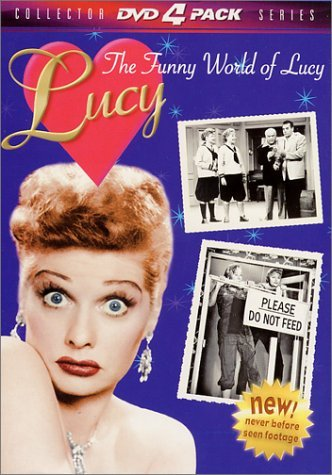Funny World Of Lucy Gift Set Ball Lucille Clr Nr 4 DVD