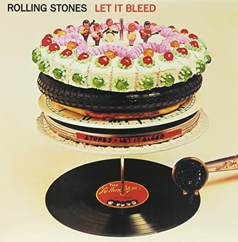 Rolling Stones Let It Bleed Clear Vinyl Remastered
