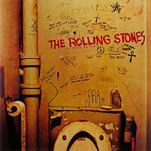 Rolling Stones Beggars Banquet Clear Vinyl Remastered