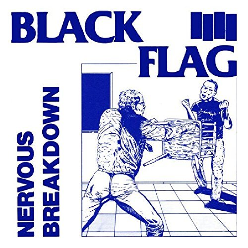 Black Flag Nervous Breakdown 7 Inch Single