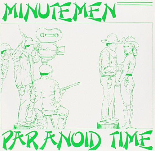 Minutemen Paranoid Time 7 Inch Single