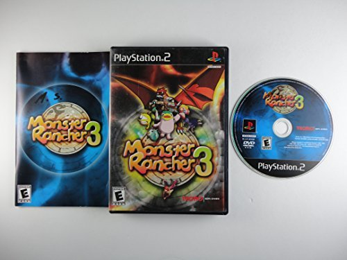 Ps2 Monster Rancher 3 E