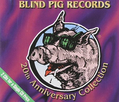 Blind Pig 20th Anniversary Blind Pig 20th Anniversary Col Guy Wells Hooker Allison Rush 2 CD Set