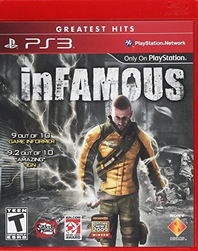 Ps3 Infamous Sony Computer Entertainme Infamous