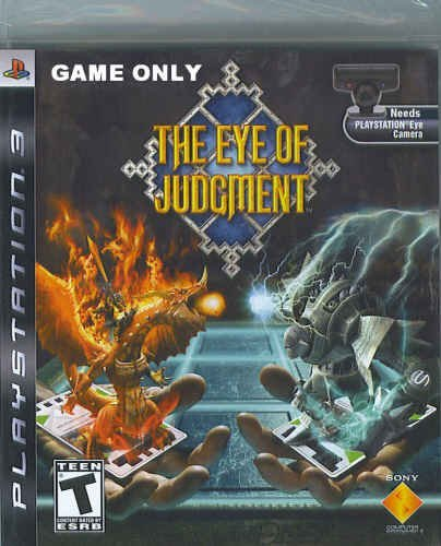 Ps3 Eye Of Judgement W Camera