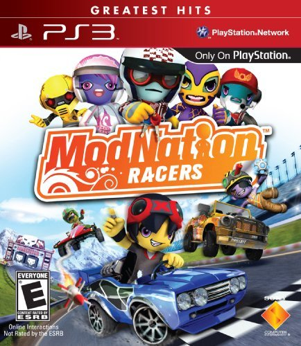 Ps3 Modnation Sony Computer Entertainme Modnation Racers