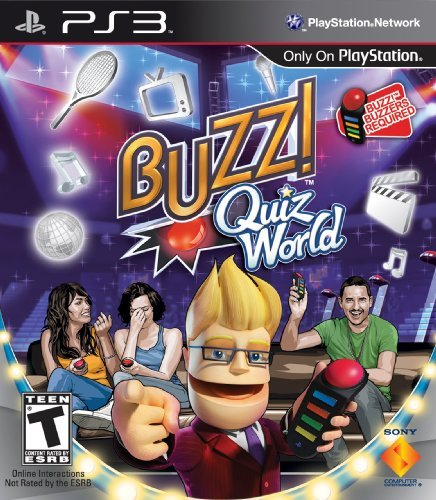 Ps3 Buzz Quiz World (software Only)