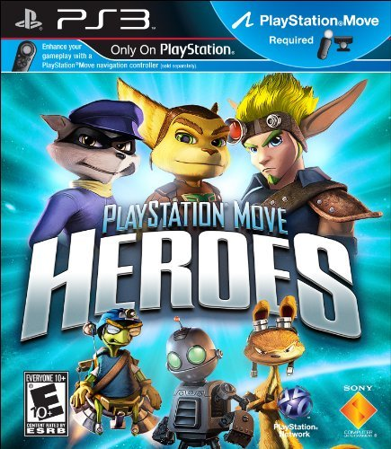 Ps3 Move Playstation Move Heroes Sony Computer Entertainment Am E10+