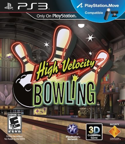 Ps3 Move High Velocity Bowling Sony Computer Entertainme E10+ 3d