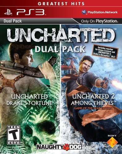 Ps3 Uncharted 1 & 2 Pak Sony Computer Entertainme T