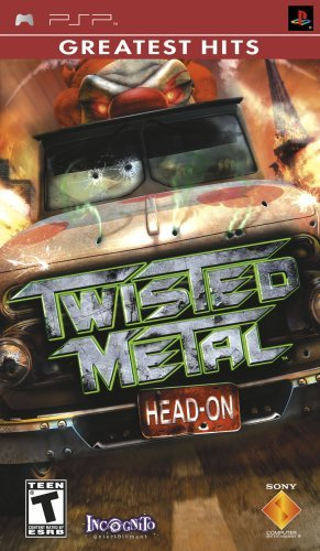 Psp Twisted Metal Head On Sony Computer Entertainment E