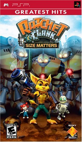 Psp Ratchet & Clank Size Matters Sony Computer Entertainme E10+